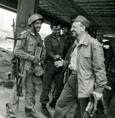 Arafat in Beiroet.