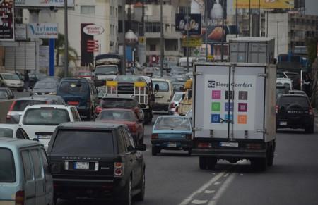 Langzaam rijdend en stilstaand verkeer