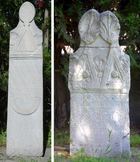 Twee Romeinse grafstenen uit Kayseri