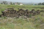 Opgraving van de karum van Kanesh; de brandlaag is nog zichtbaar.