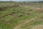 Een pas-opgegraven deel van het paleis van Anitta in Kanesh