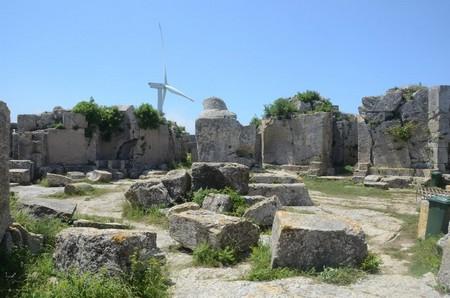 De restanten van Simeons zuil