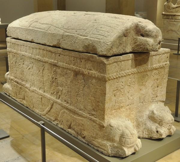 Het graf van Ahirom van Byblos (Nationaal Museum, Beiroet)