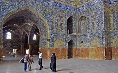 Isfahan, moskee van Shah Abbas