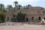 De ruïne van het fort van Akaba