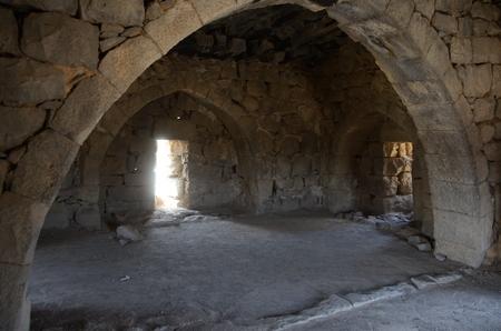 Het vertrek in Azraq waar Lawrence prins Faysal ontving.