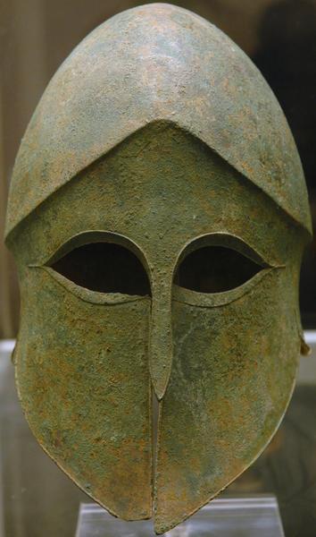 Korinthische helm (British Museum)