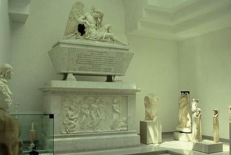 Triëst, het mausoleum van Winckelmann