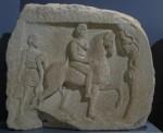 De ontdekking van deze grafsteen zal binnenkort ook wel worden aangekondigd, al staat 'ie al een paar jaar in het museum van Amfipolis.