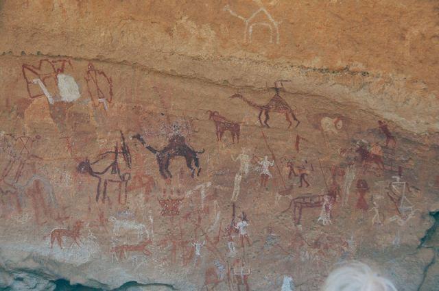 Fresco's uit de Wadi Imla