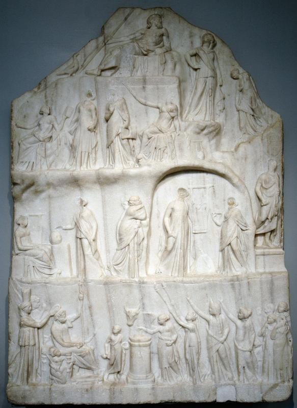 Apotheose van Homeros (British Museum)
