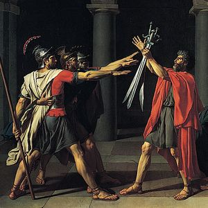 """Waar het idee van een """"Romeinse"""" groet vandaan kwam"""