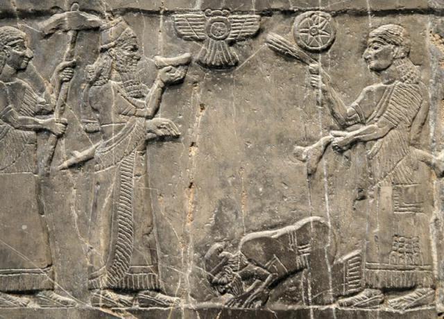 De Zwarte Obelisk van Salmanaser (British Museum)