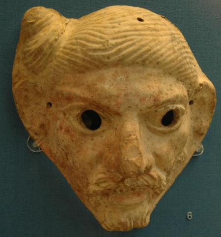 Masker van een Germaan