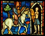 Nog een keer het bedelaarincident: Parijs, Sainte-Chapelle (nu in het Musée de Cluny)