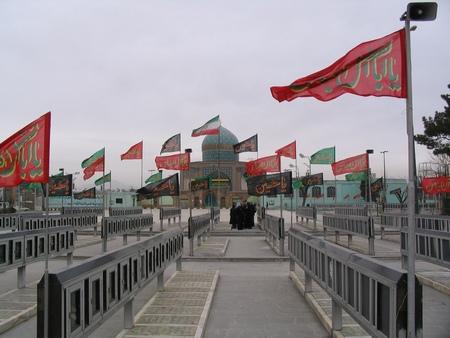 Militair ereveld, Qazvin
