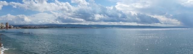 De Fenicische kust, gezien vanuit Tyrus-Stad