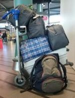 Als je 36 kilo extra bagage mee krijgt.