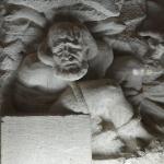 Zahak in het mausoleum van Ferdowsi
