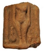 Beeldje van Hathor of Afrodite (British Museum)