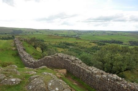 De limes in Engeland (Walltown Crags)