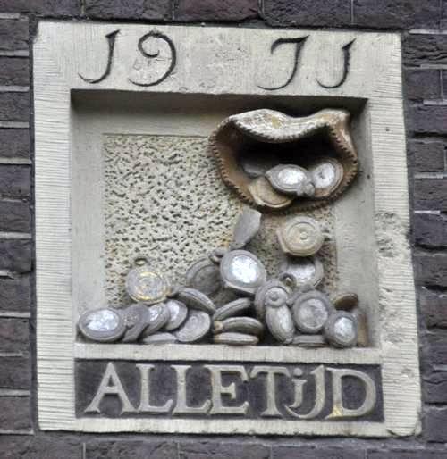 tijd_is_geld_amsterdam_gevelsteen_ozab