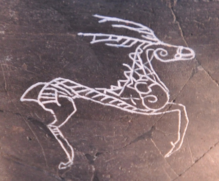 Springend hert (Manching Kelten Römer Museum)