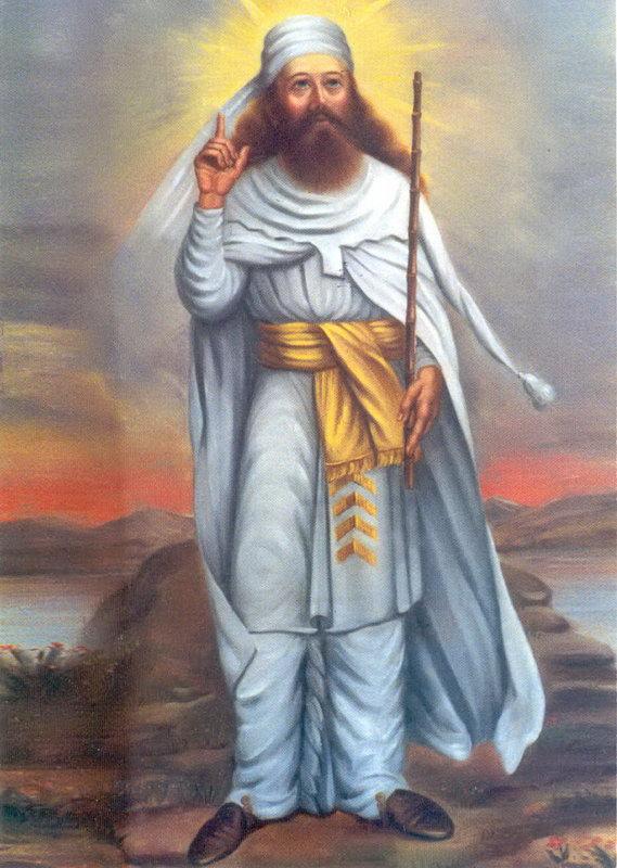 Een moderne afbeelding van Zarathustra