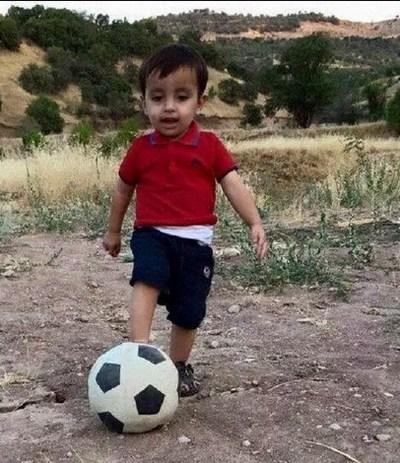 Laatste foto van Aylan Kurdi tijdens zijn leven