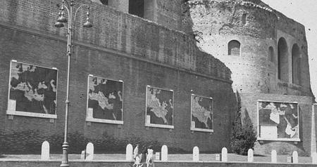 Mussolini's slecht-geplaatste landkaarten