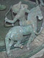 Een krijger van de Centraal-Aziatische steppe (British Museum)