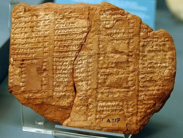 De Assyrische koningslijst (Archeologisch Museum, Istanbul)