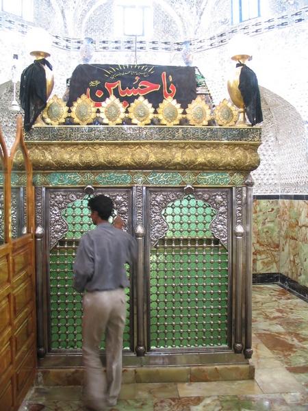 Het graf van Daniël in Susa