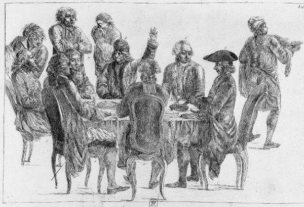 Jean Huber, Le souper des philosophes