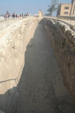 Het eerste scheepsgraf uit Giza.