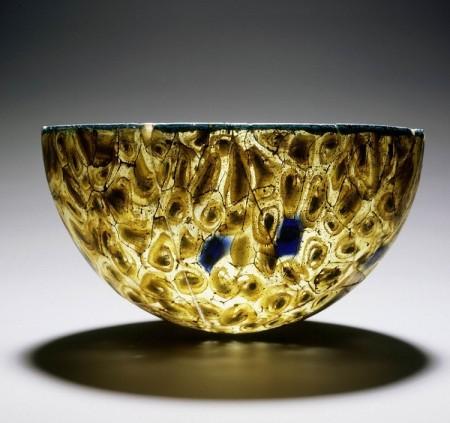 Kommetje van millefiori-glas