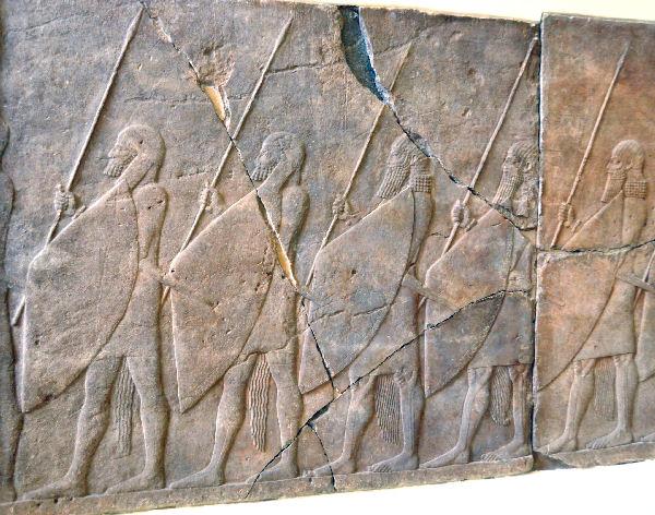 Sanheribs soldaten (Pergamonmuseum)