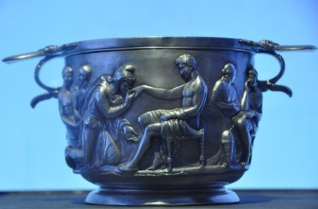 Priamos en Achilleus (Nationaal Museum, Kopenhagen)
