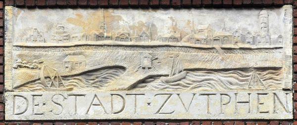 Gezicht op Zutphen (Runstraat 16, Amsterdam)
