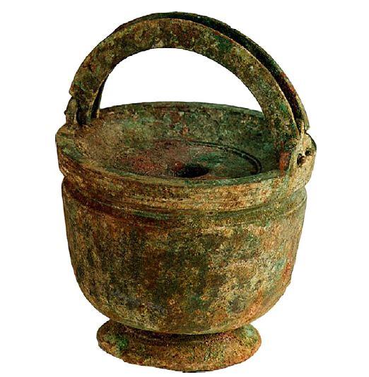 Inktpot uit Qumran (Schøyen-collectie)