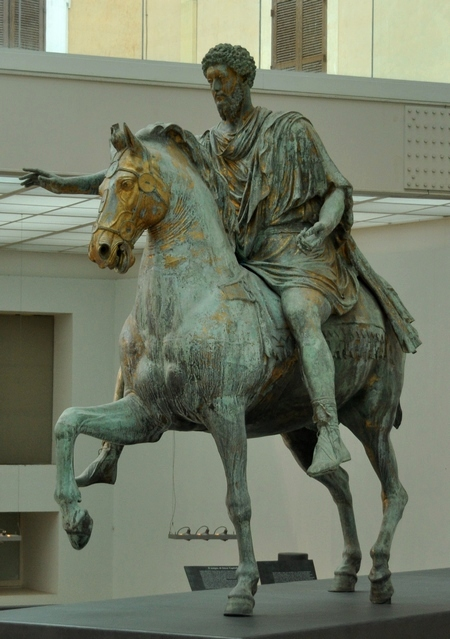 Ruiterstandbeeld van Marcus Aurelius (Capitolijnse Musea, Rome)