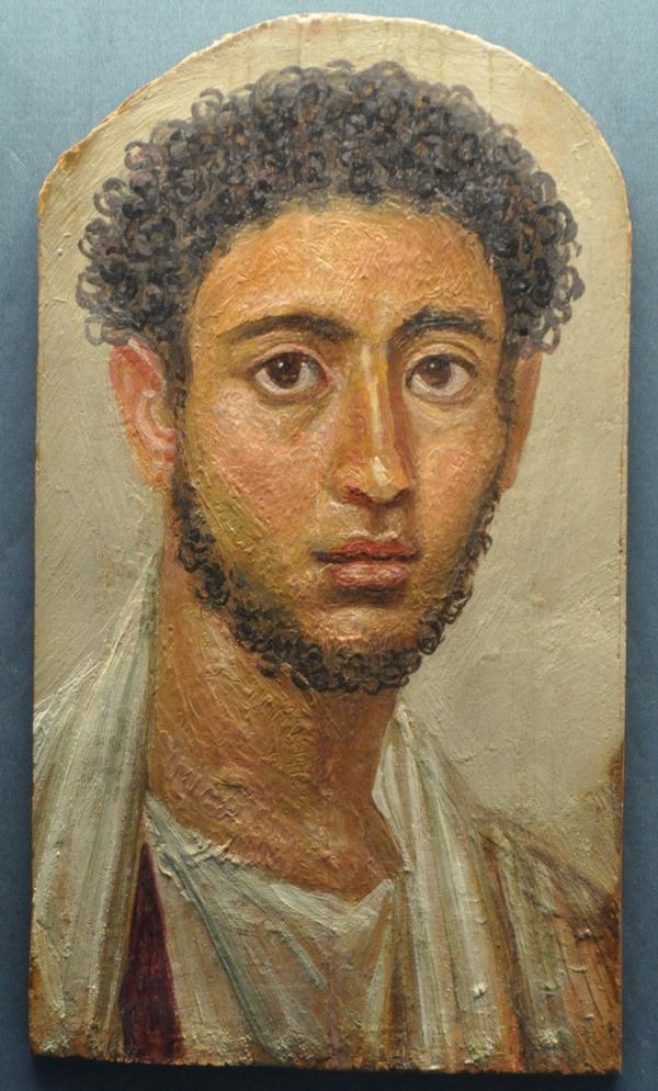 Romeins mannenportret uit Egypte (Antikensammlung, Munchen)