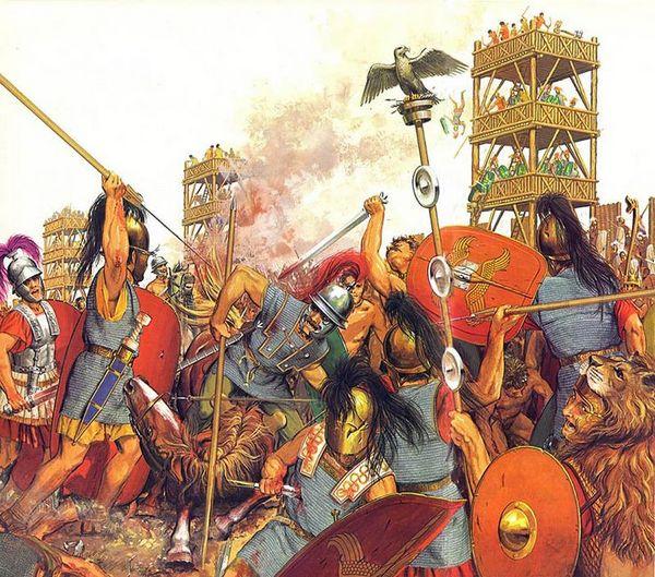 De strijd om Alesia volgens Peter Connolly