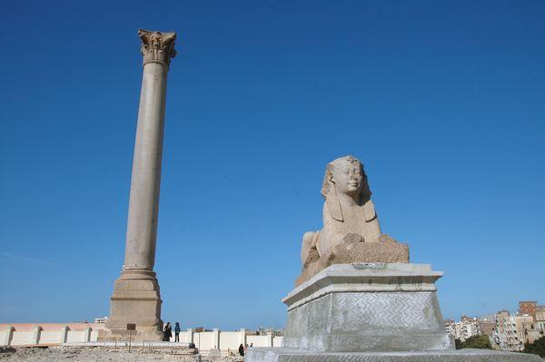 Wat de christenen lieten staan van het Serapeum in Alexandrië
