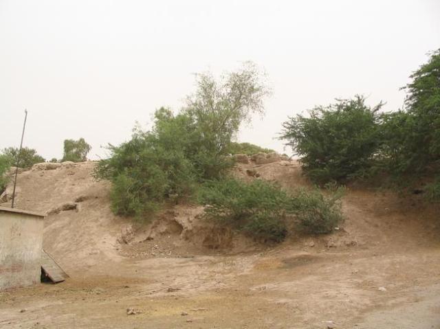 De oude stadsmuur van Multan in Pakistan