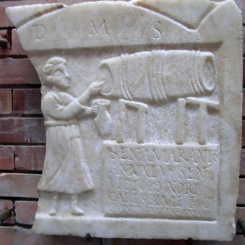 Een herbergierster (Museo Nacional de Arte Romano, Mérida)