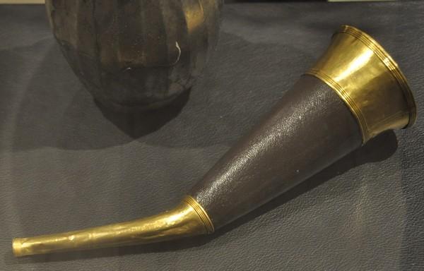 Hoorn uit een Avaars graf (Nationaal Museum, Boedapest)