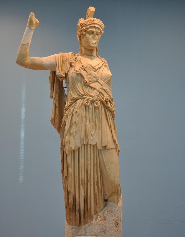 Athena/Allat (Museum van Palmyra)