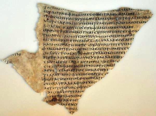 Fragment uit Euripides' Melanippe
