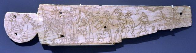Ivoor uit Megiddo (Israel Museum, Jeruzalem)
